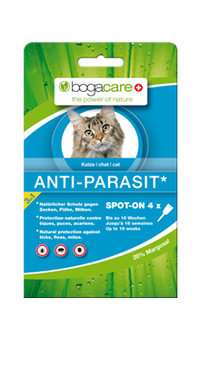 Bogacare® antiparasit chat,naturel au Margosa